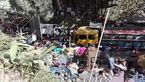 کامیون مرگ جمعیت کنار جاده را درو کرد+عکس