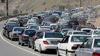 ترافیک در جاده کرج-چالوس و شمال به جنوب هزار