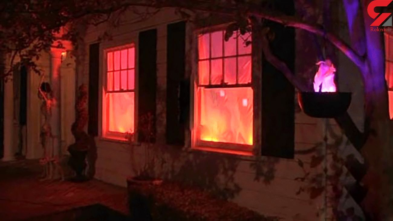 Halloween fire decoration in US is so realistic, people keep calling 911