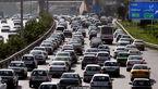 ترافیک در آزاد راه کرج- تهران و کرج-قزوین نیمه سنگین است