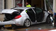 ورود خودرو به داخل یک کلیسا در انگلیس+عکس