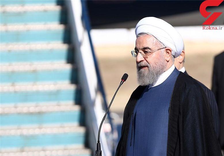 ابراز همدردی حسن روحانی با قربانیان حادثه سقوط هواپیمای نظامی الجزایر
