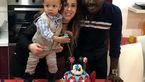 گادوین منشا و همسرش در جشن تولد+عکس