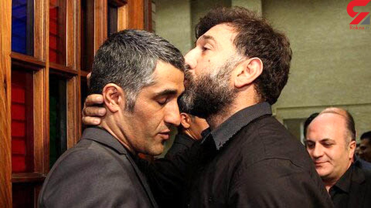 عکس گریه های پژمان جمشیدی برای علی انصاریان و مهرداد میناوند