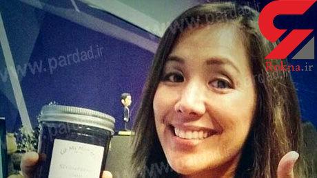 این خانم گزارشگر دزدی می کند! + عکس