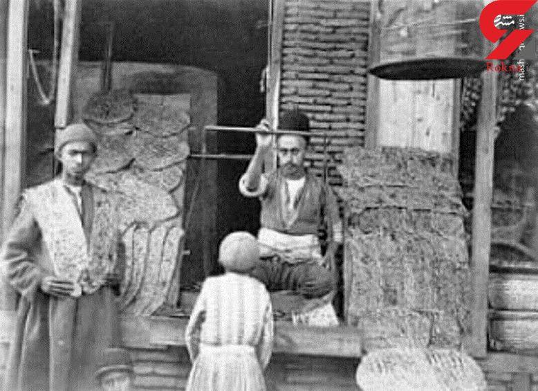نانواییهای دوره قاجار