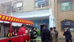 جزئیات آتش سوزی وحشتناک در مدرسه/در خرمشهر رخ داد + عکس
