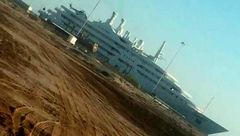 حمله موشکی به قایق تفریحی بن سلمان + عکس