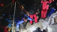 غار گنج جسد مرد سنندجی را پس داد / جستجو در غار بابا احمد + عکس و فیلم