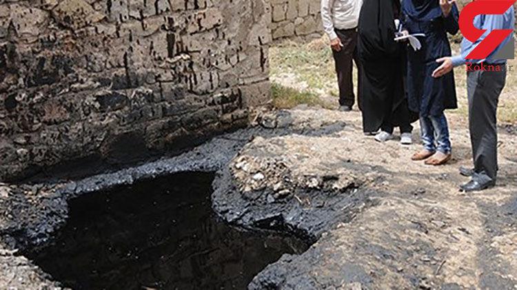 شکایت محیط زیست از شرکت نفت به دلیل آلودگیهای ایجاد شده در غیزانیه