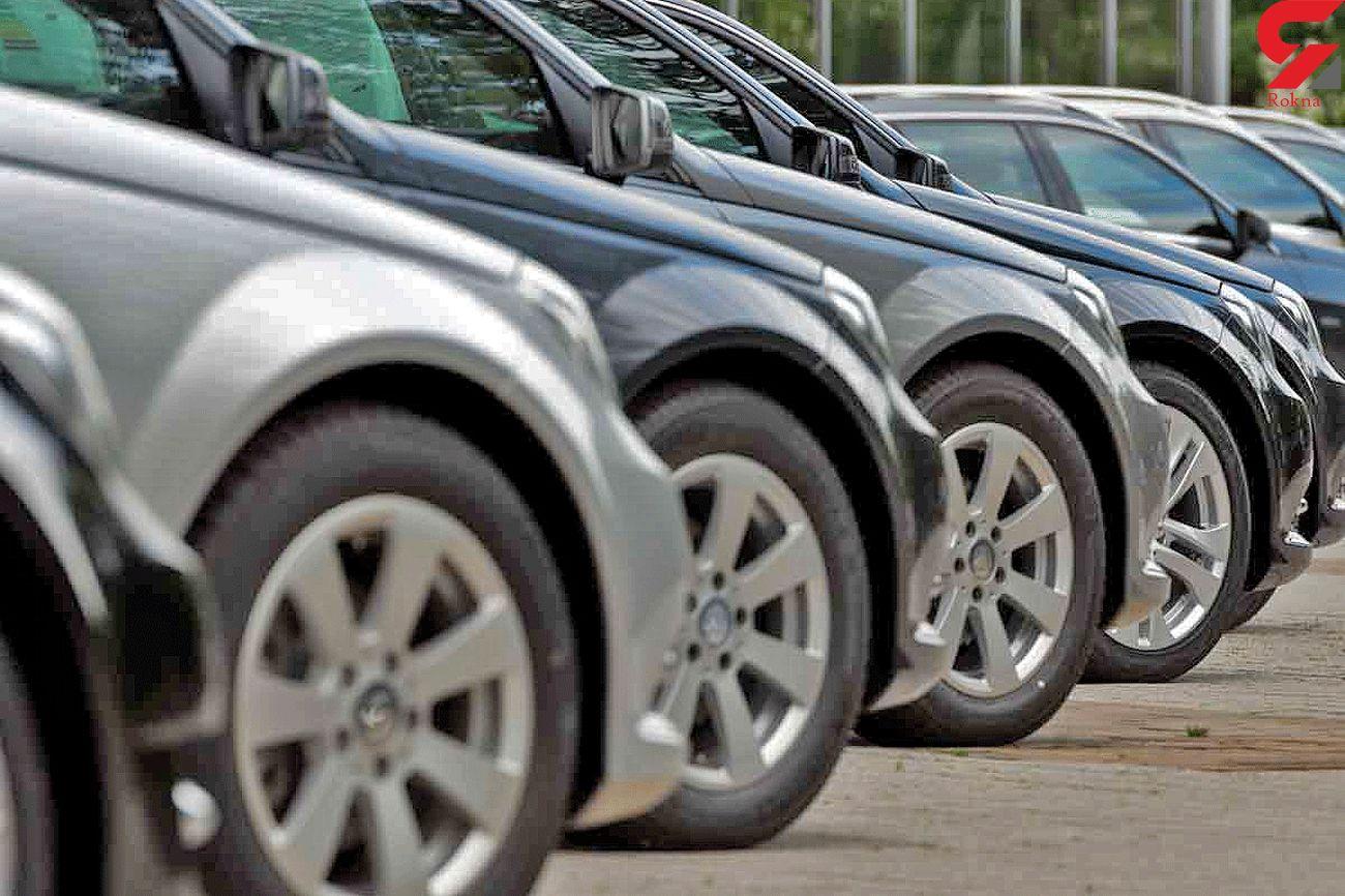 قیمت ماشین های خارجی و داخلی در بازار + جدول