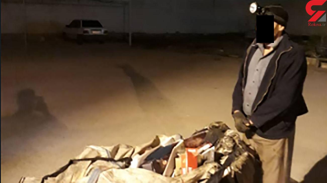 سارق درب منهول های فاضلاب آبادان دستگیر شد