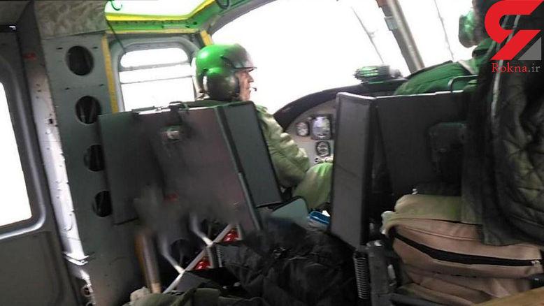 باز هم نقص فنی علت سقوط مرگبار بالگرد پلیس + عکس خلبان شهید