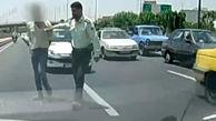 فیلم مخوف ترین تعقیب و گریز در خیابان های تهران / پلیس منتشر کرد
