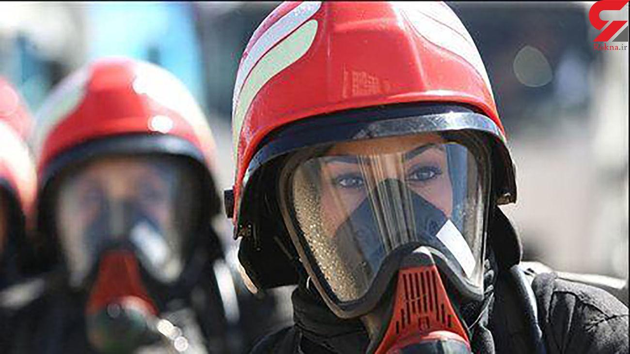 استخدام 20 آتش نشان زن در تهران