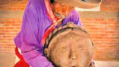 مجسمه های زیبای مرد نابینا همه را انگشت به دهان کرده است+عکس