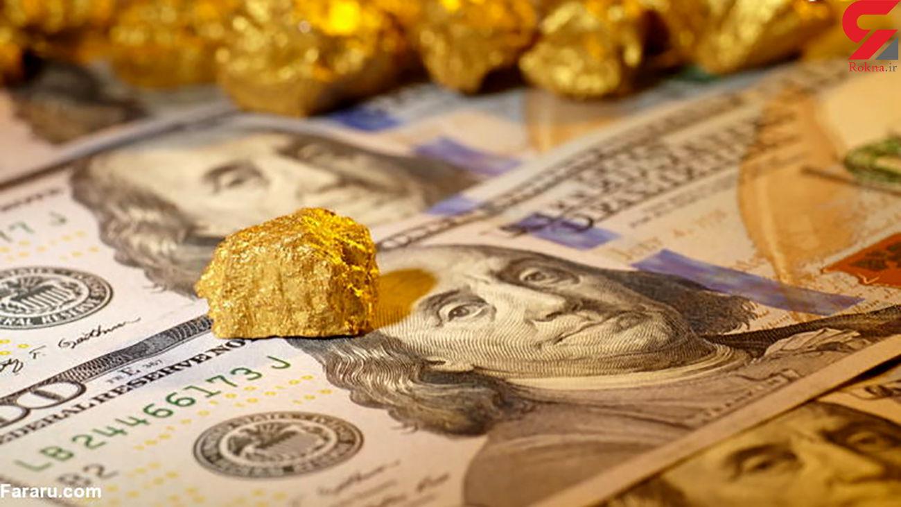 قیمت طلای 18 عیار امروز سه شنبه 31 تیر ماه / ریزش شدید قیمت سکه و دلار