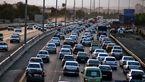 ترافیک سنگین در آزادراه کرج-تهران