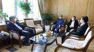 احمدی به دیدار سالاری رفت | گسترش همکاری های شهرداری رشت و سازمان تامین اجتماعی