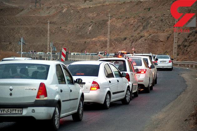 تردد تریلر ، کامیون و کامیونت در جاده چالوس ممنوع