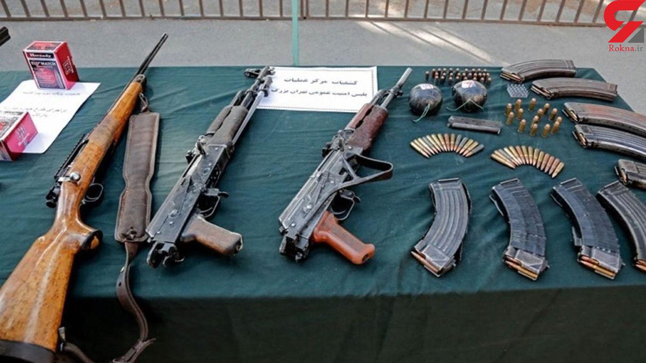 کشف سلاح جنگی و شکاری غیر مجاز در تهران