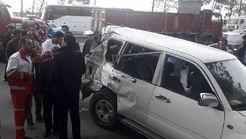 علت تصادف مرگبار خودرو نوربخش و تاج الدینی مشخص شد+ فیلم و عکس