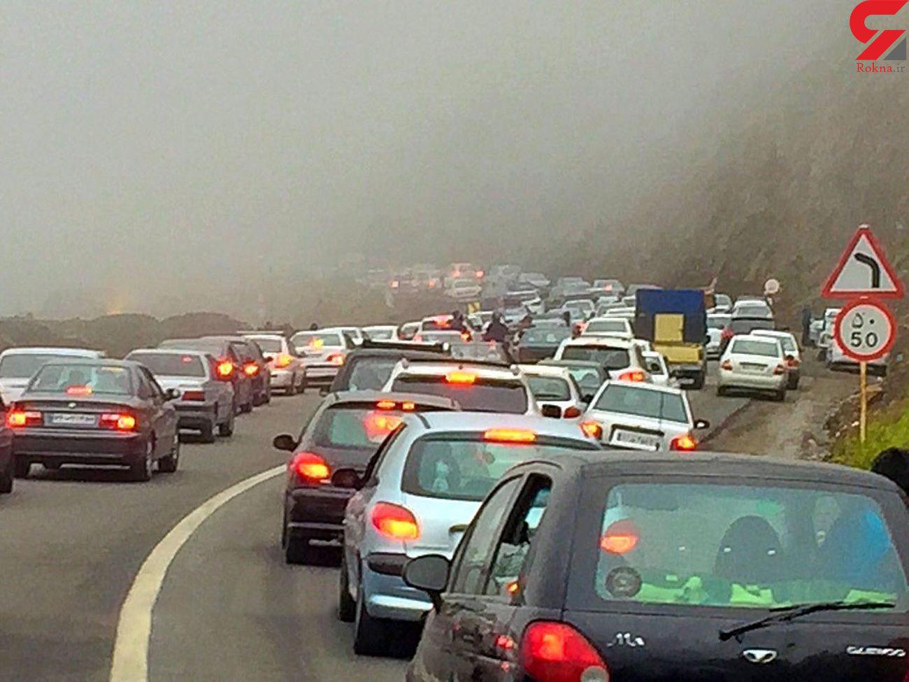آخرین وضعیت ترافیکی محورهای شمالی