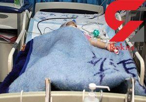 عکس تلخ از کودک ۴ ساله ماهشهری بعد از حادثه وحشتناک + جزییات