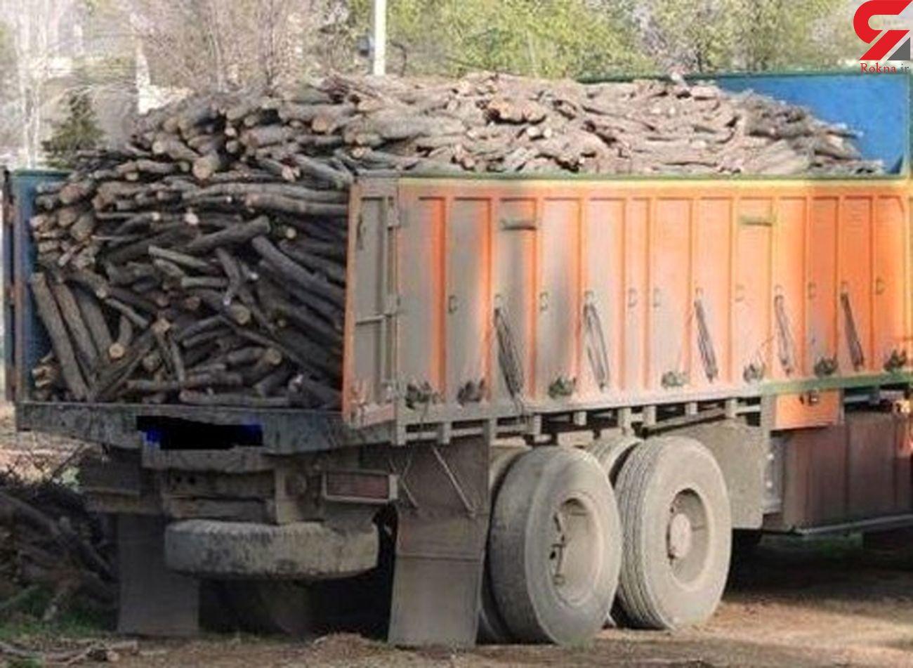 اشد مجازات درانتظار قاچاقچیان قطع و حمل چوب آلات جنگلی در گلستان