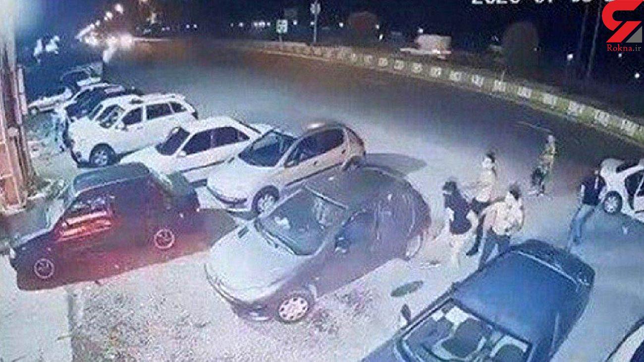حمله چماق به دست ها به یک رستوران در سرخرود محمودآباد + عکس