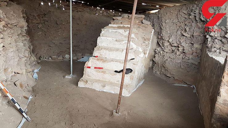 منبر مسجد شهر تاریخی فریمان کشف شد  + عکس