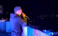 فیلم / اجرای دیجی در پشت بام شهر برای گرگانی های در قرنطینه