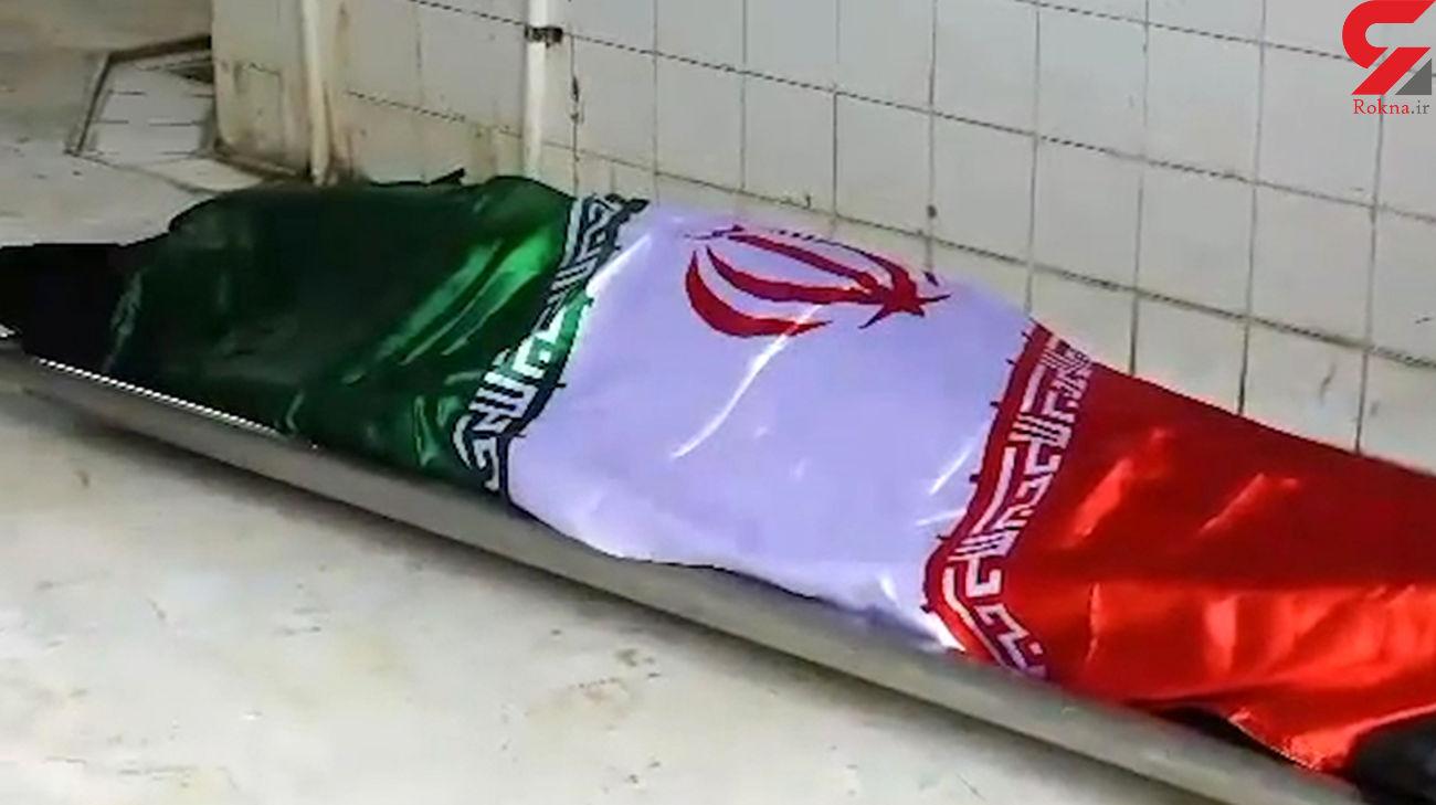فیلم تلخ از مراسم خاکسپاری دکتر عباسی توسط پرستاران و پزشکان گلستان