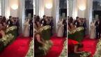 سوتی خنده دار ساقدوش عروس در مراسم عروسی+عکس