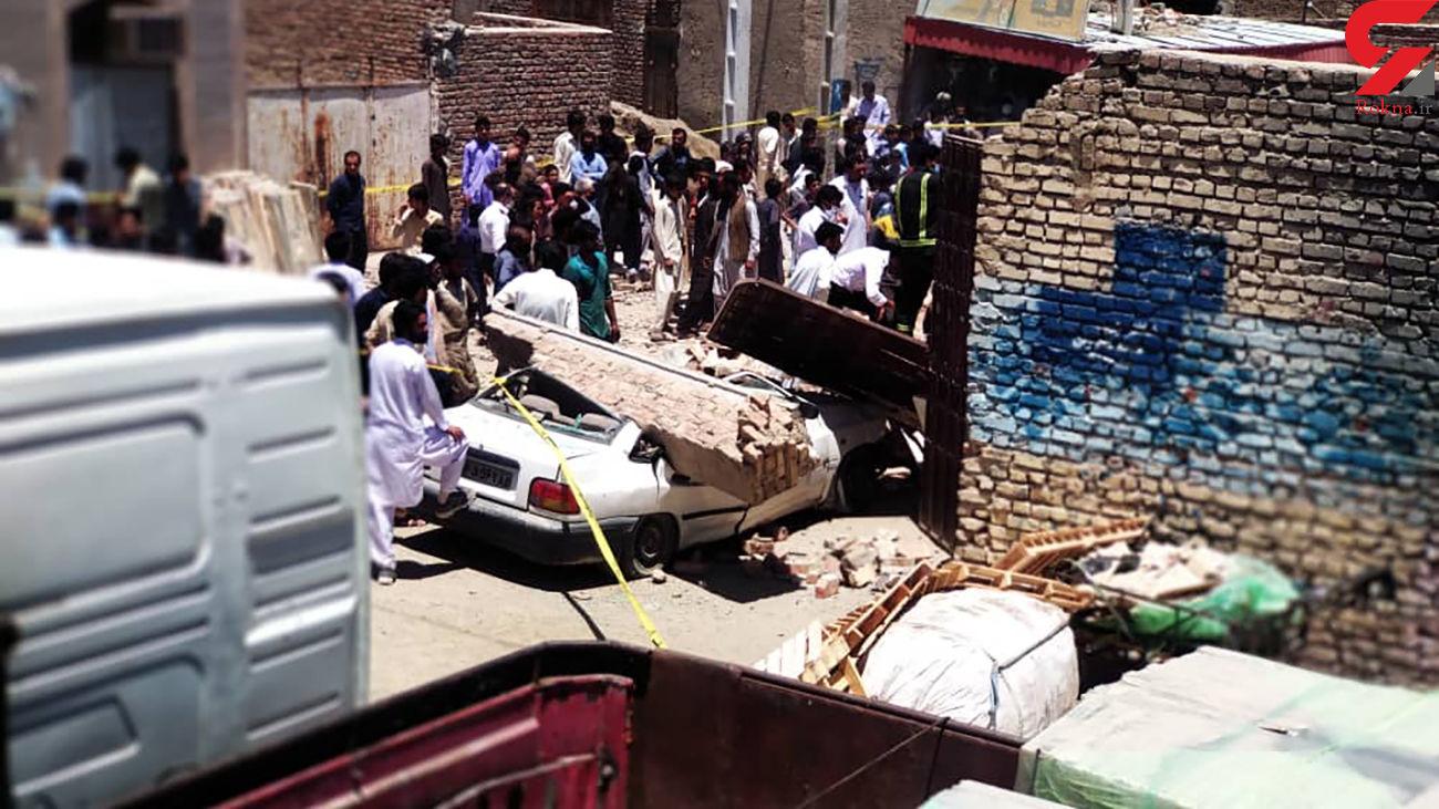مرد زاهدانی زنده زنده دفن شد + عکس