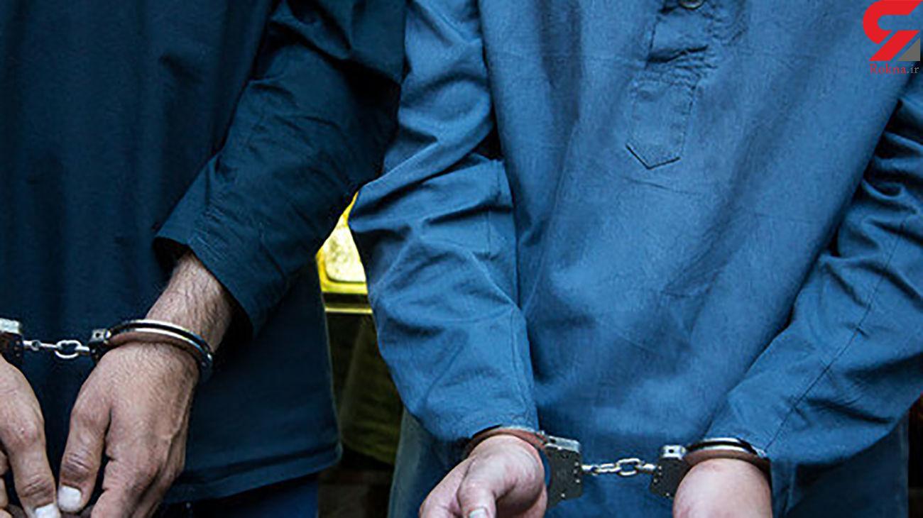 دستگیری 4 سوداگر مرگ در بدره