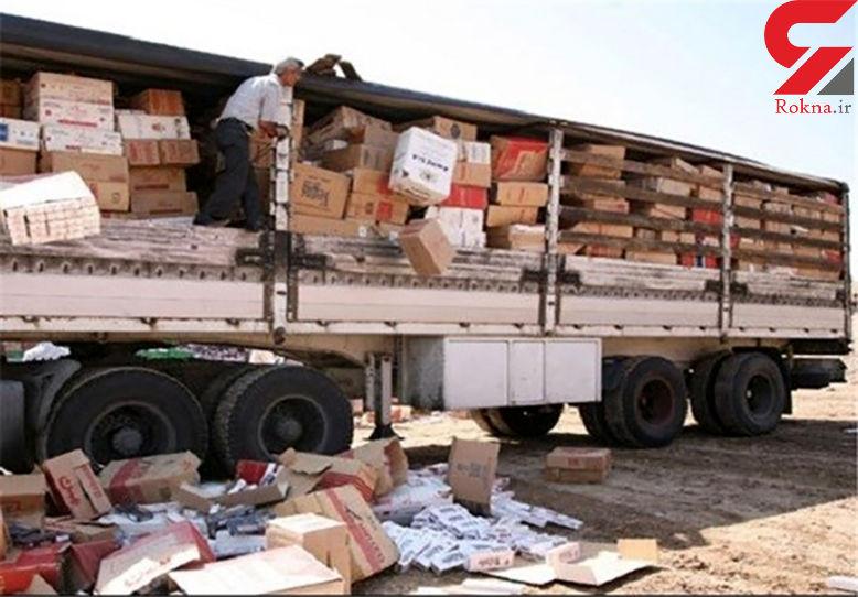 کشف میلیاردی قاچاق در هندیجان / زندانی 2 متهم