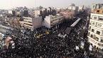 عکس های هوایی از مراسم تشیع پیکر آیت الله رفسنجانی