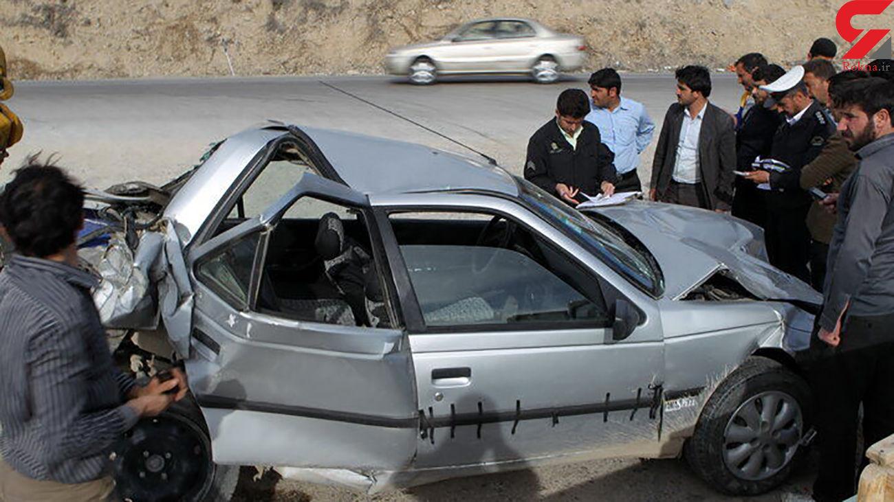 مرگ تلخ 6 نفر در تصادف جاده کرمانشاه