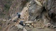 ریزش کوه ۲ روستا را خالی از سکنه کرد
