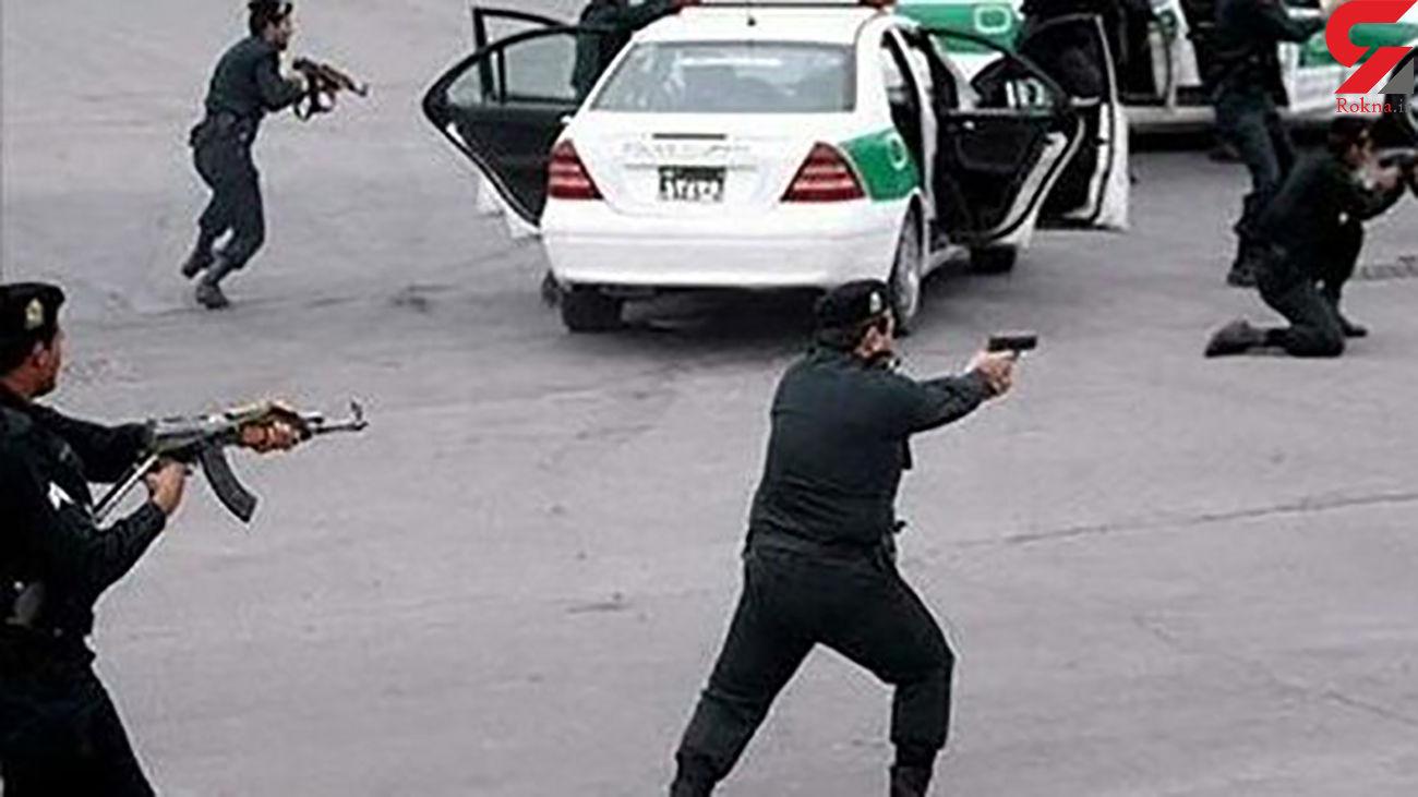 گلوله پلیس خوزستان سارق مسلح را کشت