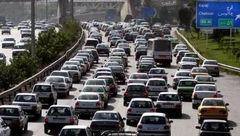 ترافیک سنگین و نیمهسنگین در ورودی کلانشهر تهران