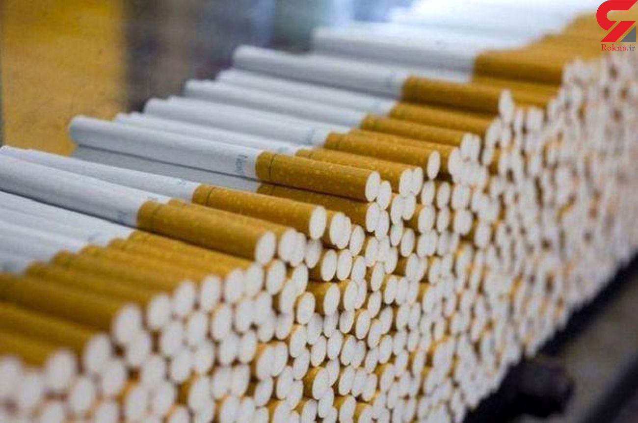 کشف 120 هزار نخ سیگار قاچاق در کرمانشاه