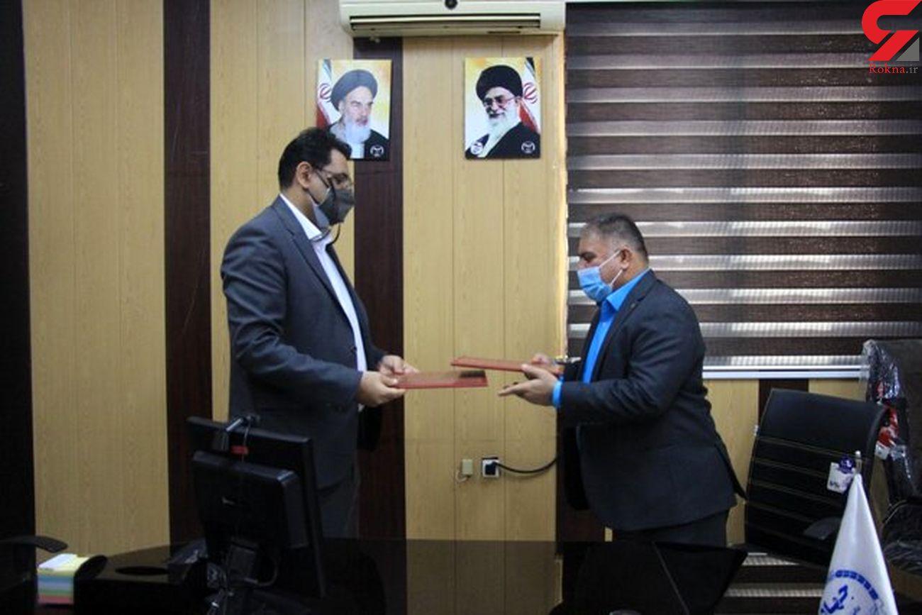 تفاهم نامه همکاری اداره کل پست استان با جهاد دانشگاهی هرمزگان منعقد شد