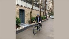 """سفیر سوییس در تهران به کمپین """"سهشنبههای بدون خودرو"""" پیوست"""