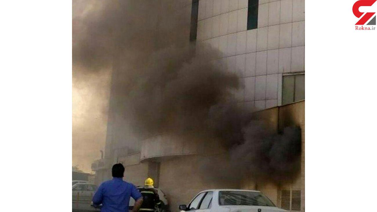 آتشسوزی هولناک در برج شهر تبریز + عکس