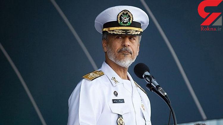 امیر سیاری: نیروی دریایی امروز در همه عرصههای بینالمللی حضور دارد