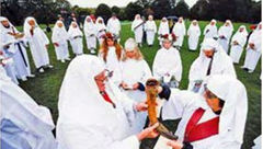 جشن راهبه ها در آغاز پاییز + عکس