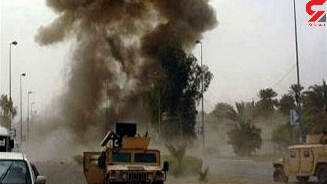 Released video of US military truck being targeted in Iraq