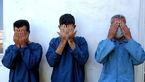 فیلم بازداشت اراذل و اوباش خیابان زاویه توسط پلیس